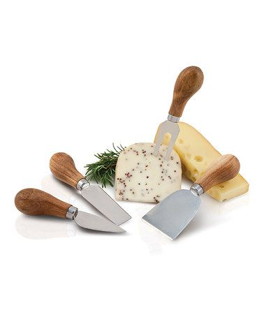 Another great find on #zulily! Rustic Farmhouse Gourmet Cheese Knife Set by True Fabrications #zulilyfinds