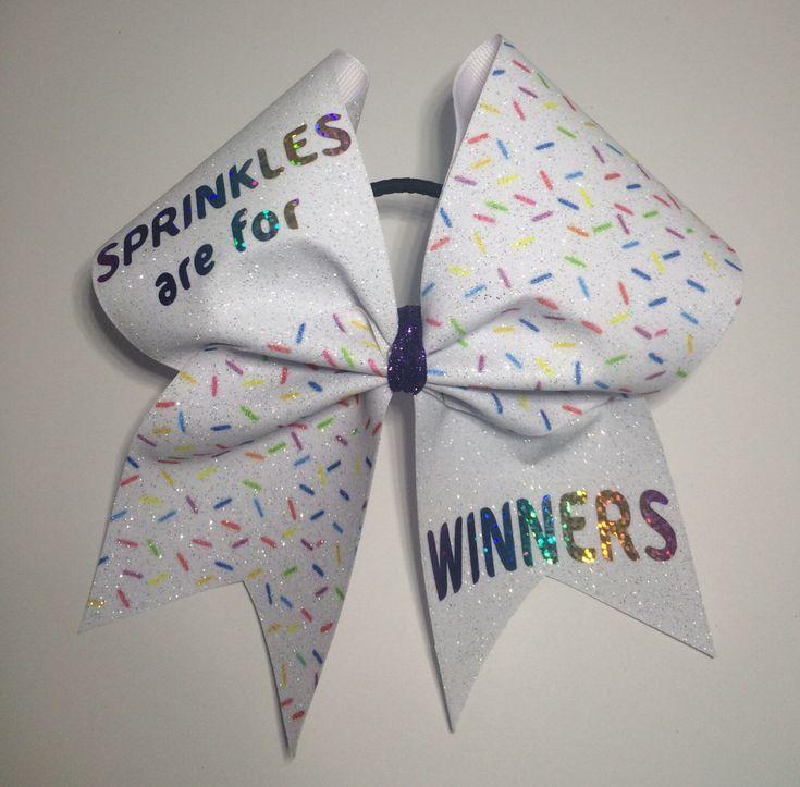 cute cheer bows - 735×723