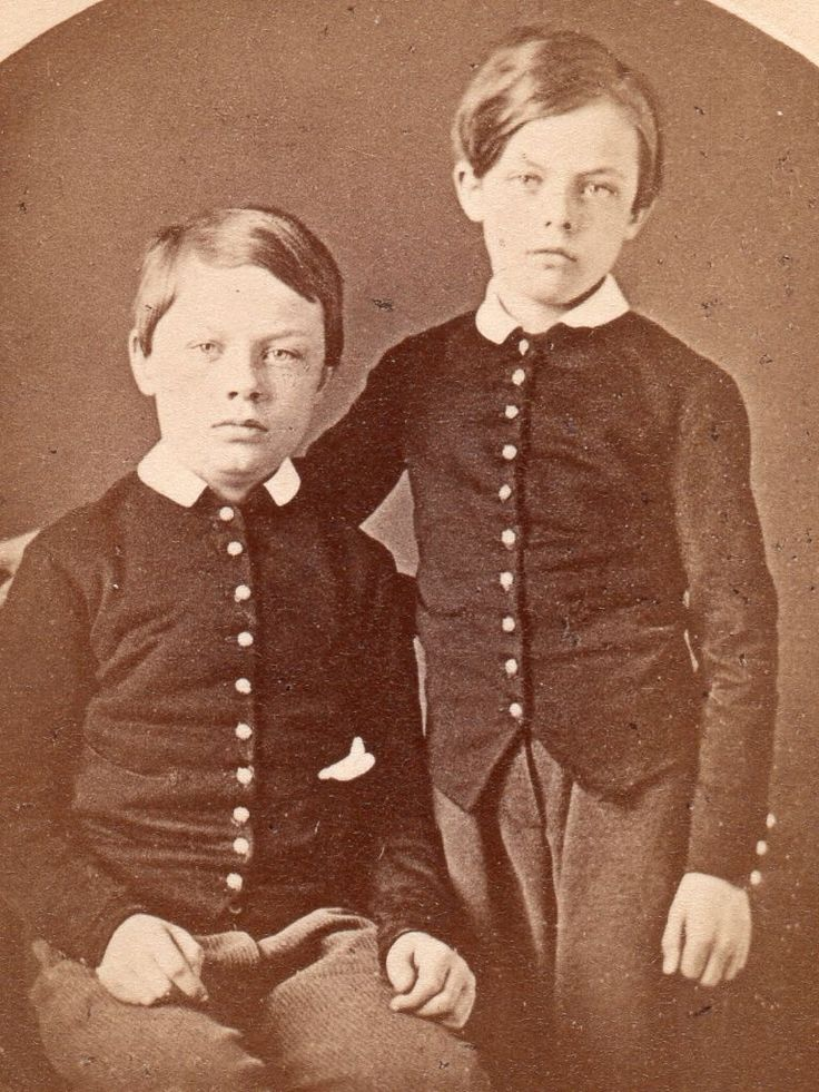 Staten Island NY CA 1870 74 Military School Cadets CDV I'D Brothers | eBay THEY ARE IDENTIFIED ON THE REVERSE IN PENCIL AS LARUE AND LEEDS JOHNSON.  THE IMAGE WAS MADE BY J. LOEFFLER, TOMPKINS- VILLE, STATEN ISLAND, NY.