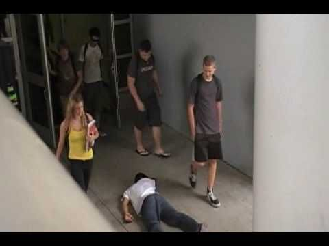 ▶ The Bystander Effect - experiment - YouTube