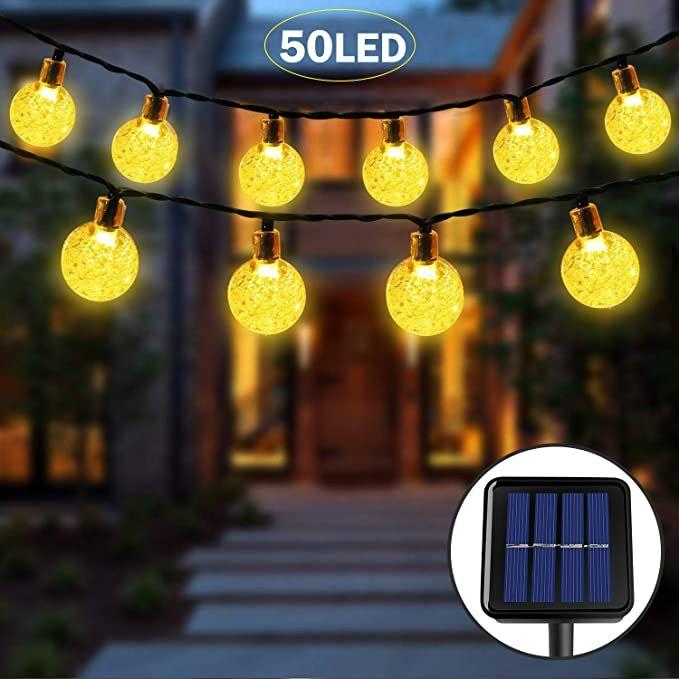Solarlichterkette Licht Zum Nulltarif Beleuchtung Lichterketten Aussen Innen In 2020 Solar Lichterkette Lichterkette Lichterkette Aussen