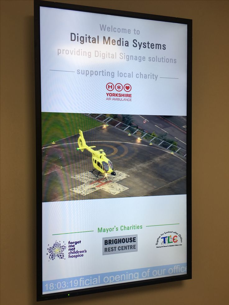 Some of the great charities supported by Digital Media Systems