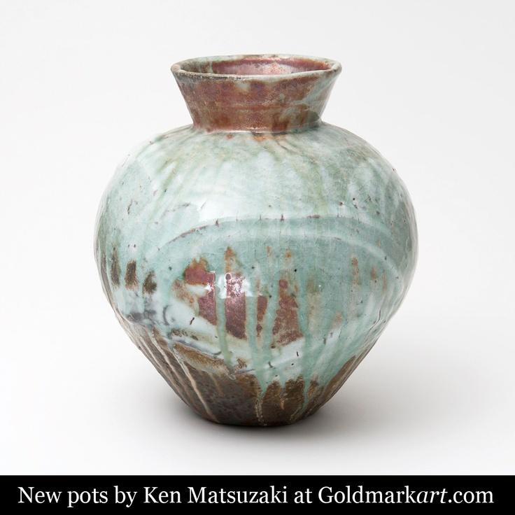 New pots by Japanese studio potter Ken Matsuzaki, visit our website to see more www.goldmarkart.com