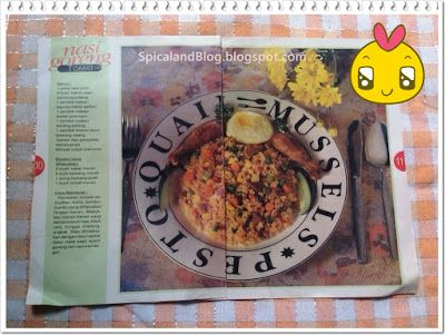 SpicalandBlog: Cara Membuat Nasi Goreng Tomat