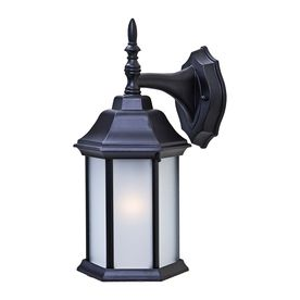 Acclaim Lighting Craftsman 2 13-In H Matte Black Outdoor Wall Light 51