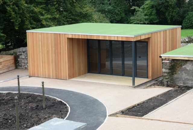 Ulverston Studio Swift with Artificial Grass Roof