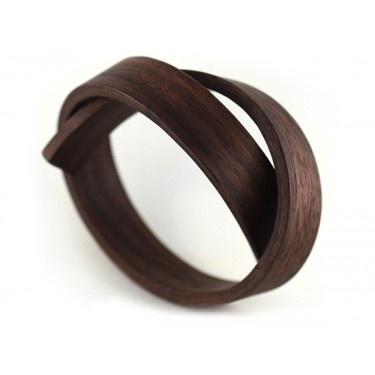 Wood bracelet by Gustav Reyes
