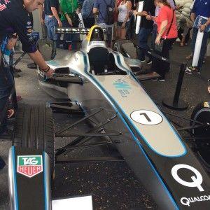La #FormulaE, la única competencia que interactúa con los aficionados y los corredores