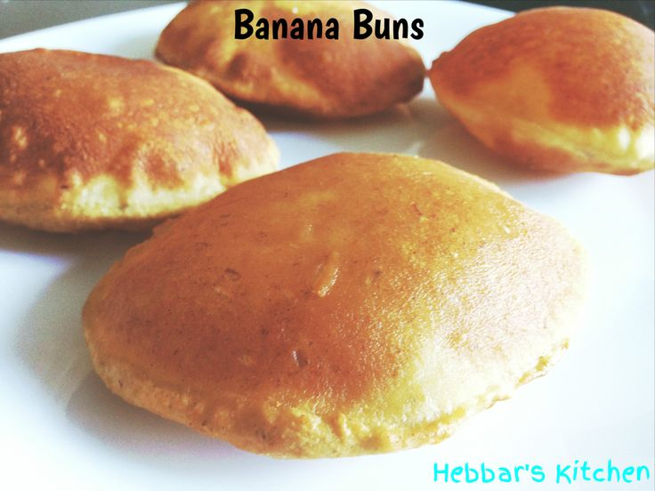 Buns / banana buns or popularly known as Mangalore buns is very popular breakfast and tea time snack in Mangalore and Udupi region.This sweet chewy deep-fried banana bread made with over ripped ba...