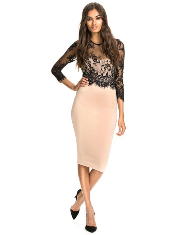 abiti da indossare nelle festività natalizie 6 http://www.wholesalebuying.com/product/2015-women-new-fashion-lady-women-lace-sleeve-splice-dress-slim-fit-pencil-dress-149222?utm_source=blog&utm_medium=cpc&utm_campaign=lendy121