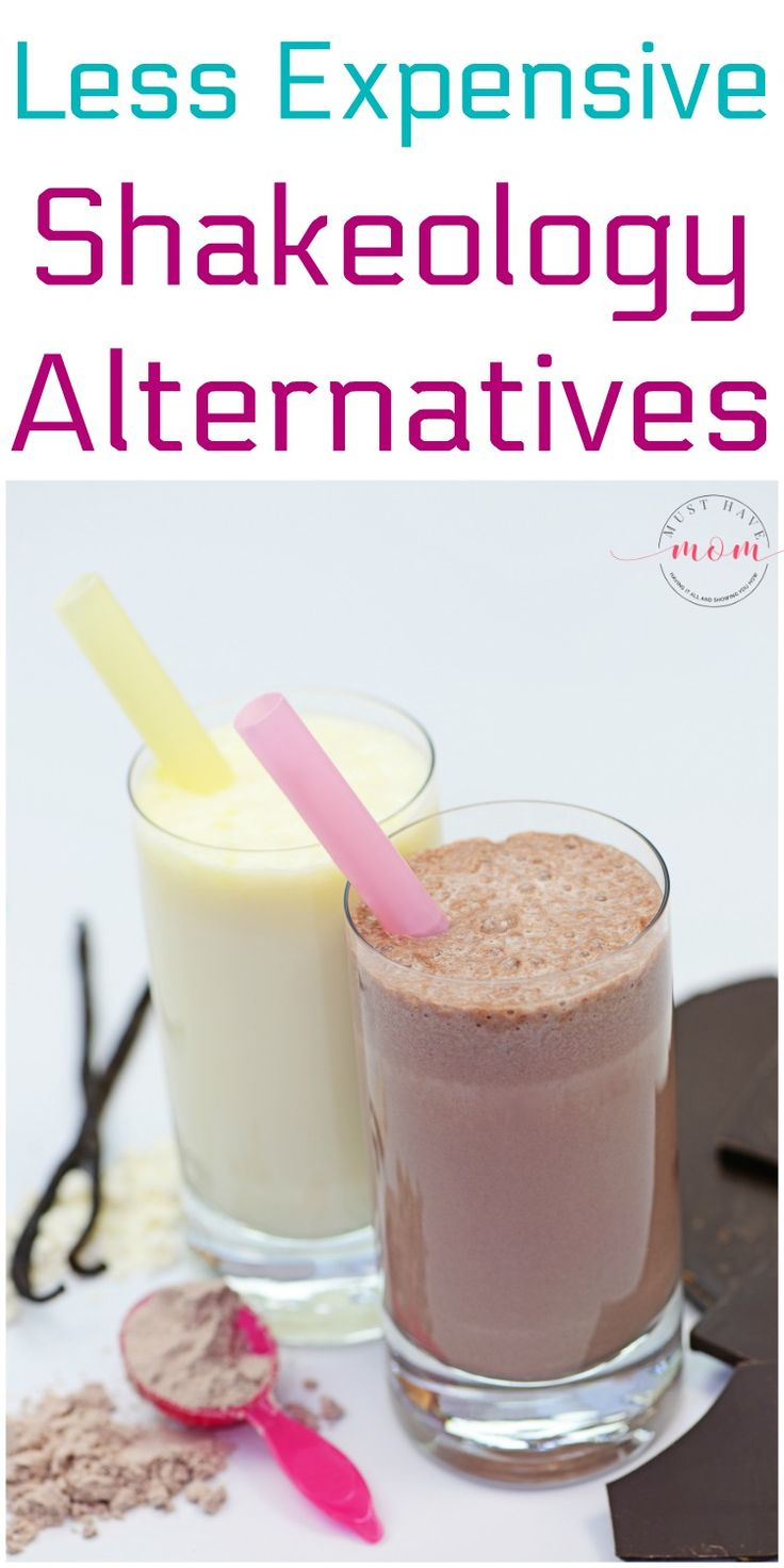 Less expensive shakeology alternatives that have the same benefits for less cost. If you do 21 day fix try this!