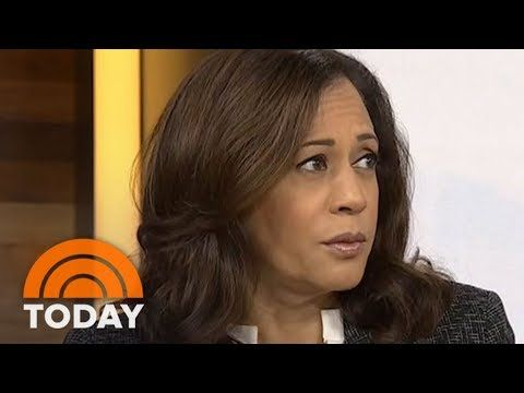 """YouTube: Today- Sen. Kamala Harris, """"We have to get to the truth."""""""