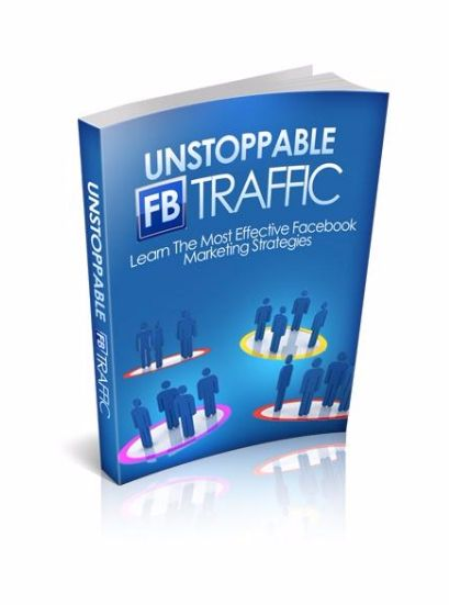 Download this free ebook: Unstoppable Facebook Traffic and learn the most effective Facebook marketing strategies. A lot of online marketers don't use Facebook for its own sake. Instead, they use this social marketing website as a tool to bring traffic to their own websites, which in turn can result in higher revenue.