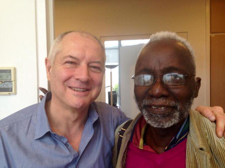 Avec le réalisateur malien Souleymane #Cissé seul africain en sélection officielle à #Cannes avec le soutien de #Tv5monde