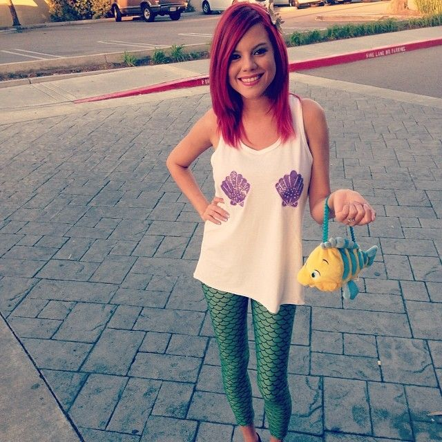 Pin for Later: 56 DIY Halloween Costumes Perfect For 20-Somethings Ariel