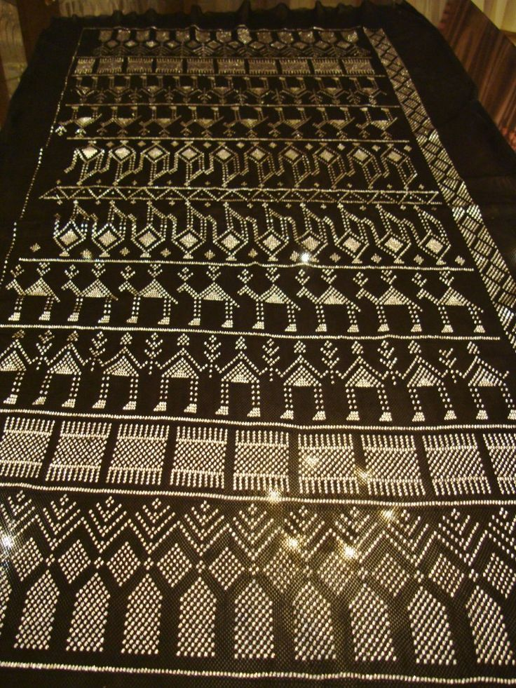 asyut fabric | Your looking at a really amazing unique black assuit shawl ,excellent ...
