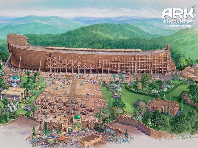 how to build in terrain ark