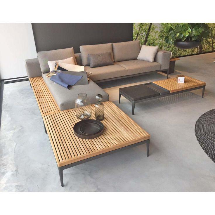 Lounge Gartenmöbel Grid von Gloster | GLOSTER | Pinterest | Lounge sofa