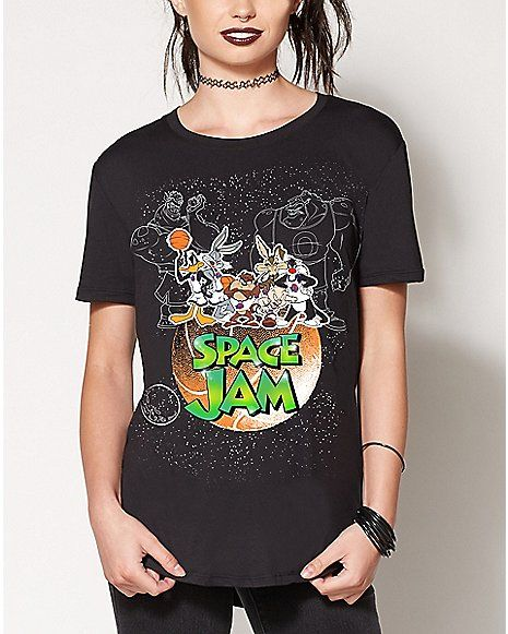 a5e6ccefac Space Jam T Shirt - Spencer s