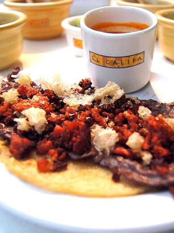 Hazte Califan probando los mejores tacos #ElCalifa  @ElCalifaMx