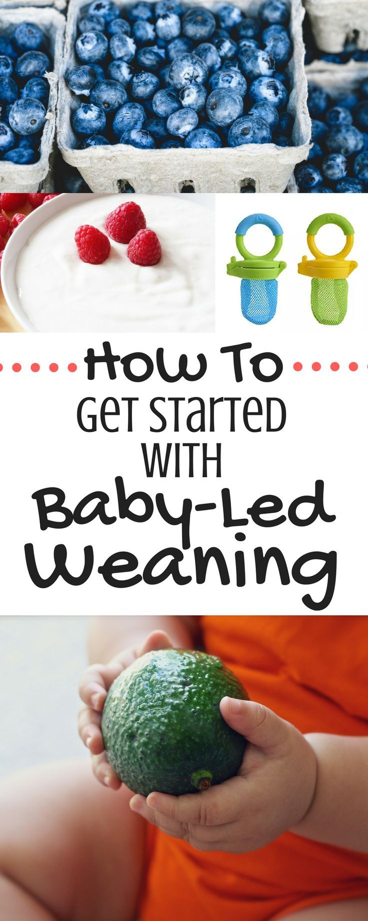 Thinking of getting started with baby-led weaning? This post is a must-read! Tons of tips and info for how to get started. All the baby-led weaning basics in one post!