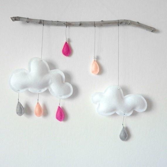 Cloud mobile by Leptit Papillon