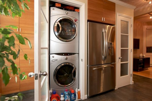 Washer/dryer solutions for small condos