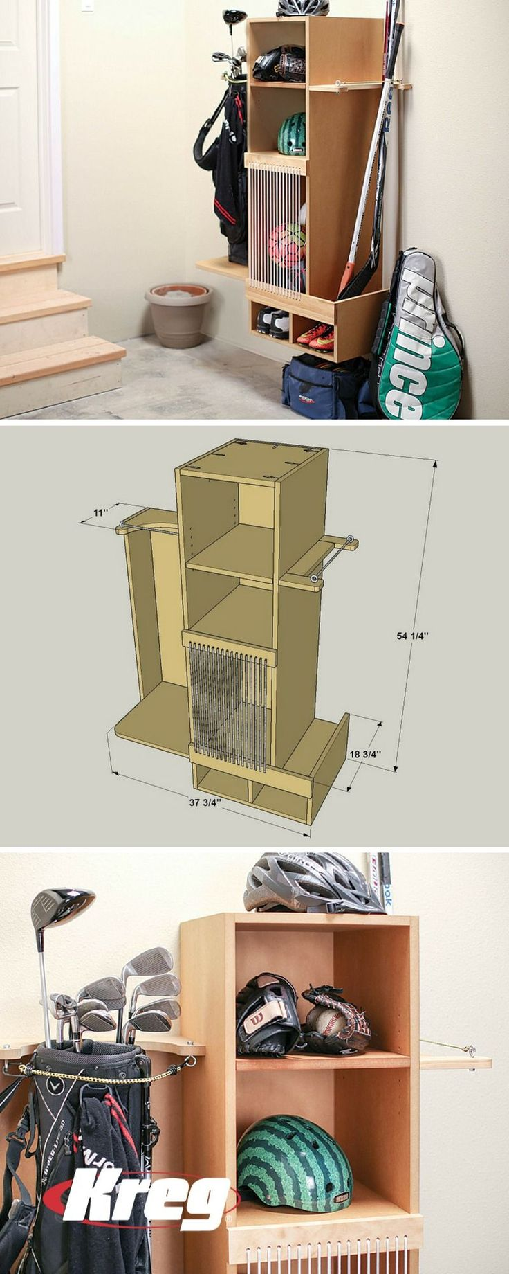 FREE PROJECT PLAN How to Build DIY Sports Equipment