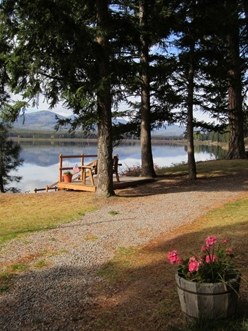 Tamarack resort on Seeley Lake