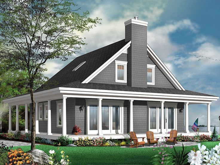 104 best Waterfront House Plans images on Pinterest | Contemporary ...