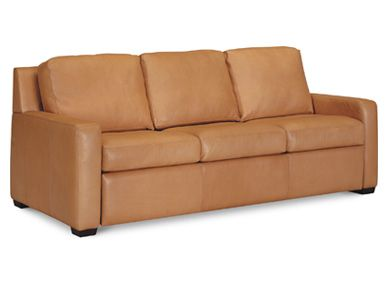 Lisben Sofa | Leather or Fabric | Many sizes available | American Leather