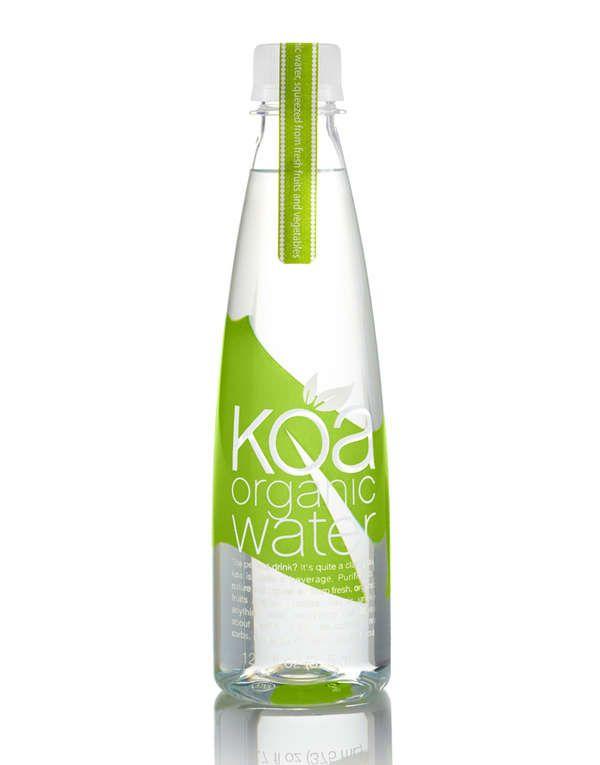 Koa Organic Water Packaging