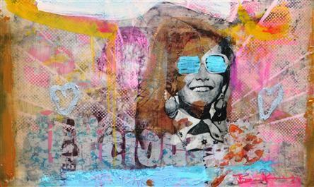 Kunstwerk: Love the delicious transition of youth van kunstenaar Bram Reijnders