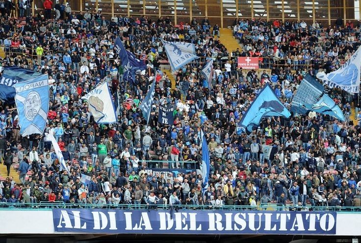 @Napoli i tifosi partenopei nello stadio San Paolo #9ine