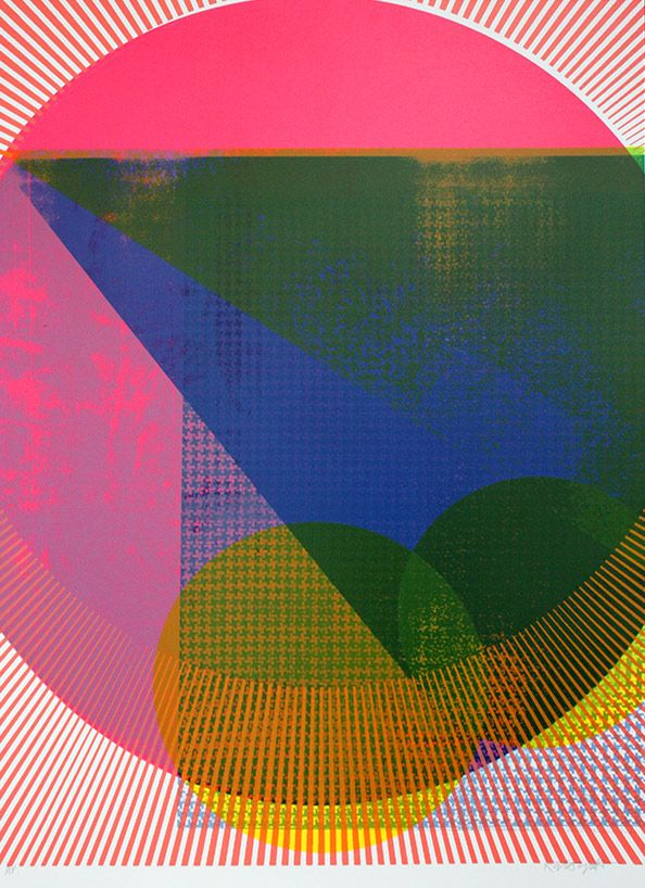 Kate Gibb Spring Breaker Print Club London Screen Print
