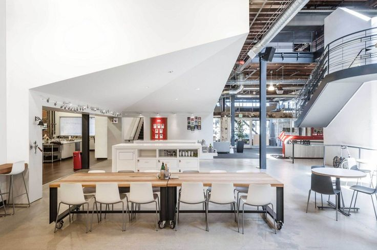 Oficinas Centrales de Pinterest / All of the Above + First Office + Schwartz and Architecture