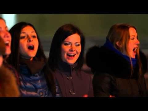 Краснодарские девочки поздравляют Россию - Конь - YouTube