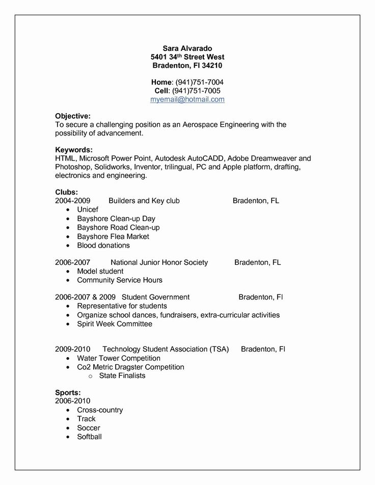 National resume writers association resume examples