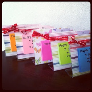 This is cute...just a fun little gift for a co-worker, friend or teacher.