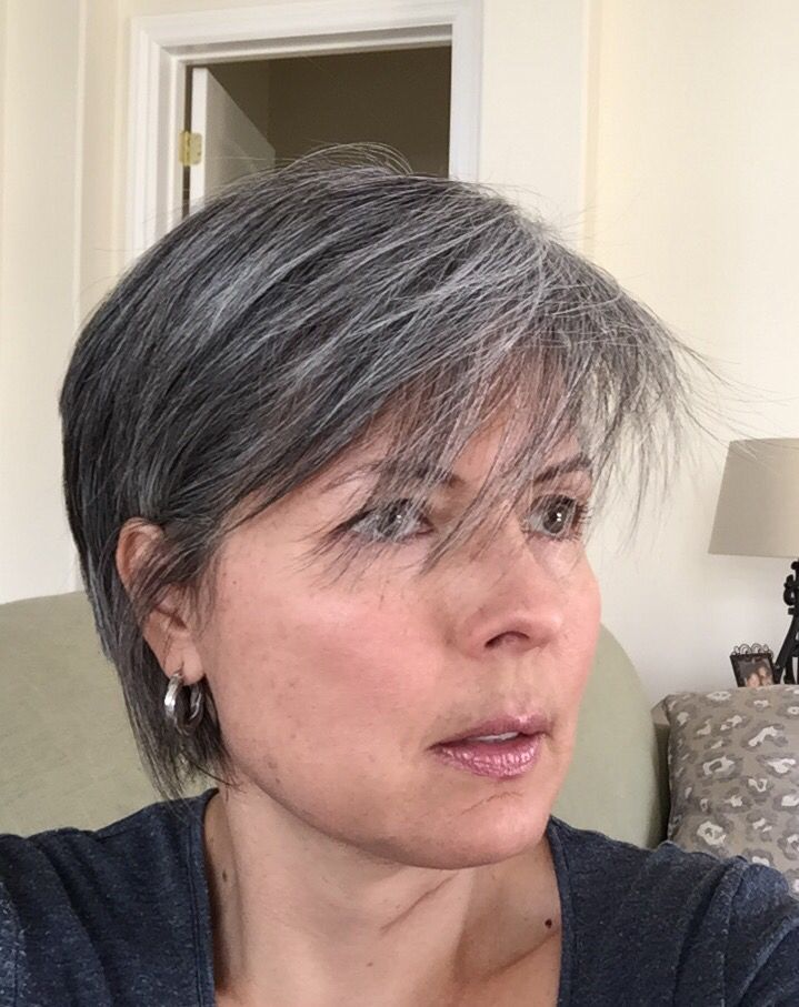 92 best images about Growing out my gray hair on Pinterest