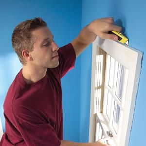 Stop Window Drafts and Door Drafts to Save Energy Remove window and door trim to seal air leaks for good and save big money