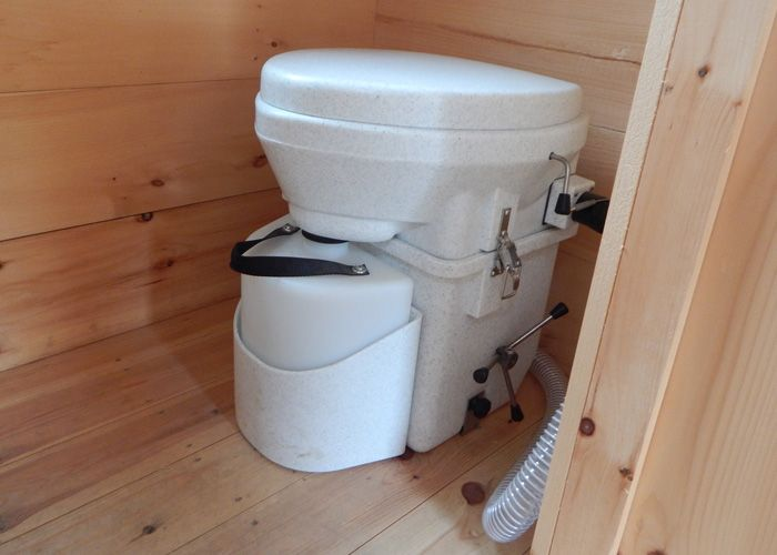 Check out this Natures Head composting toilet for sale at Jamaica Cottage Shop! It's self contained, a waterless operation, compact, lightweight & odorless.
