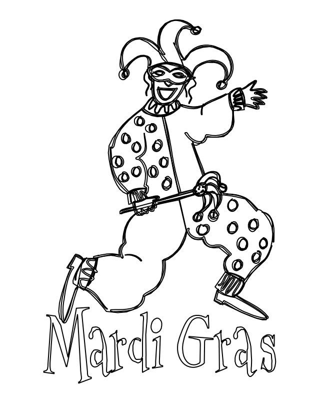 Free Printable Mardi Gras Coloring Pages For Kids In 2020 Mardi Gras Coloring Pages Mardi