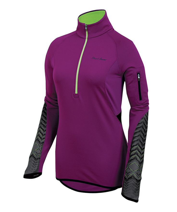 thermal top with perfect zipper pocket for keys, money, etc