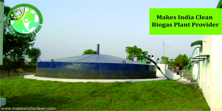 Makes India Clean is one of the eminent green technology providers, which has productively completed 10 years. The company is pioneer in offering three major services to its clients, which are biogas plant, water treatment plant and rainwater harvesting plant. One of the most demanded services is Biogas plant, which is a mixture of various gases and is produced by the decomposition of the organic matter in the absence of the oxygen. The production of the biogas starts in the closed system.