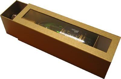 Подарочная коробка для бутылки шампанского