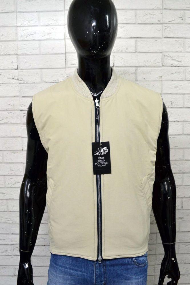 Giubbotto TIMBERLAND Giubbino Uomo Taglia Size XL Jacket Giacca DOUBLE FACE d286d727451
