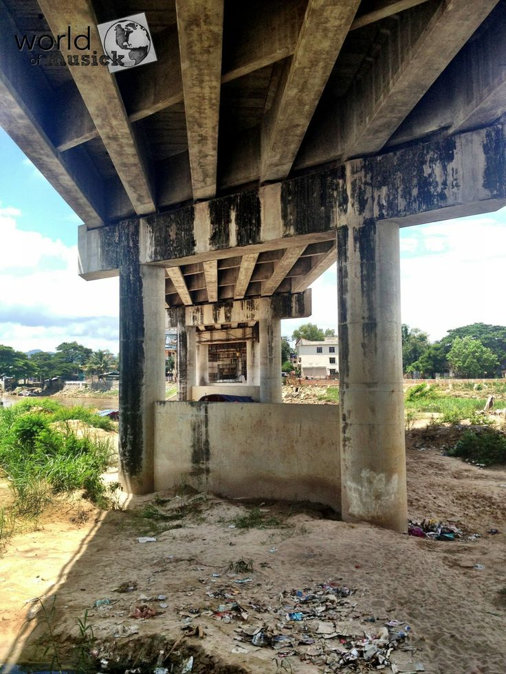 Under The Friendship Bridge - Mae Sot Thailand / Myawaddy Burma