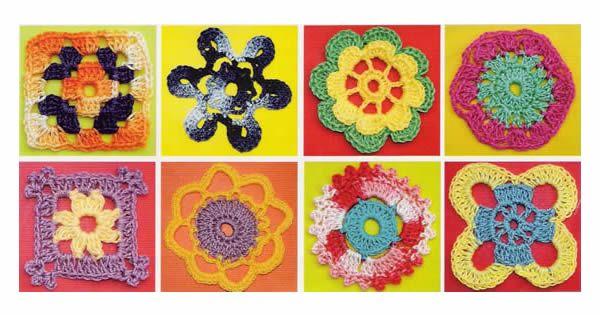 50 gráficos de flores de crochê para download grátis | Revista Artesanato