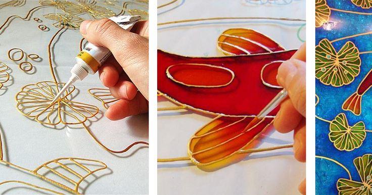 Роспись стекла — деликатный и изысканный способ декорирования, ранее доступный только избранным профессионалам. Однако современные достижения в области синтетических смол и красителей позволяют теперь украшать стекло и любителям. При помощи красок, используя разные техники, стало возможным расписывать стекло, зеркала, керамику, металл и другие подобные материалы.